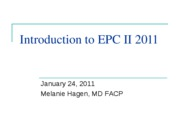 Introduction to EPC II_Neurologic Exam Lecture (PowerPoint)