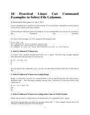 10 Practical Linux Cut Command Examples to Select File Columns.docx