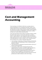 _Cost Accounting 01 Introduction 20151031 Parab
