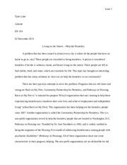 Proposal to solution paper