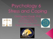 Class 5 - Social Psychology and Stress