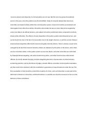 social welfare essay marie julme hus prof fattibene social  1 pages disparities toward african americans