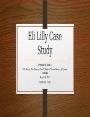 eli lily and ranbaxy case essay