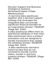 Decision Support and Business Intelligence Systems3.docx