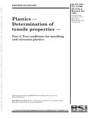 ISO 527 - Plastics Determination of Tenslie Properties - Part 2.pdf