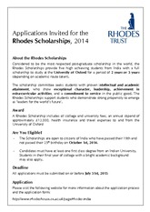TheRhodesScholarships2014Poster