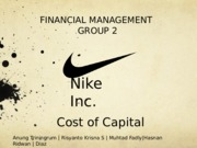 114268112-NIKE-Inc-Cost-of-Capital-Financial-Management