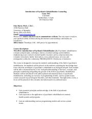 Syllabus Coun 7912 Psych rehab (fall 2008)