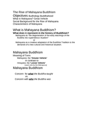06the rise of mahayana buddhism