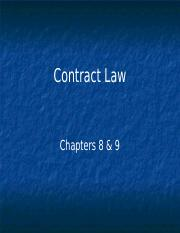 Contracts to elc0.ppt