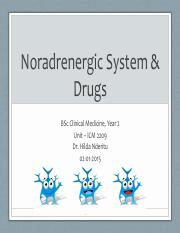 Lecture 2b Intro - Noradrenergic Transmission & Drugs (1).pdf