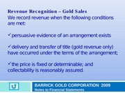 BarrickGold_Rev Recog'n Note