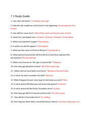 7.1 Study Guide_Kyle Reighard
