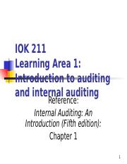 Introduction to internal auditing_Chapter 1(1)
