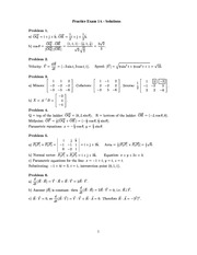 Practice Exam 1A - Solutions