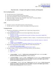 PP465 Drug Interactions Fall 2014 (1)