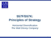 Session 8 Disney_horizontal diversification