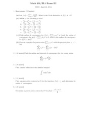 Math 231 Exam3_solution 2014