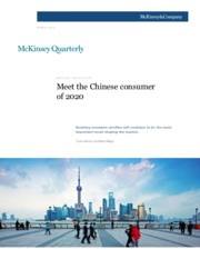 1 Meet the Chinese consumer of 2020