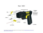 Taser X26 C Diagram