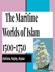 Maritime Worlds Of Islam Presentation.pdf