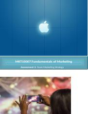 MKT10007 Fundamentals of Marketing.docx