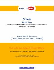 Buy 1Z0-807 Oracle Exam Study Material And Get Discount.pdf