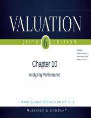 Chapter8_Analyzing Performance
