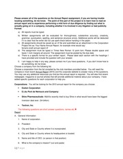 Annual Report Project instructions (1)