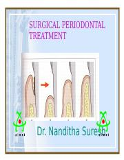 SURGICAL PERIODONTAL TREATMENT m.ppt