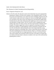 article abstract social and global responsibility