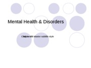 Mental Health and Disorders_Notes-1
