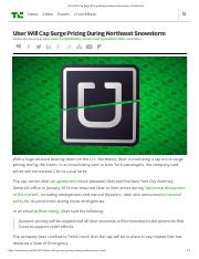 Uber Will Cap Surge Pricing During Northeast Snowstorm - TechCrunch.pdf