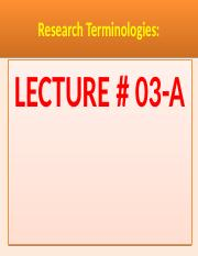 Research-TerminologyLecture-04..pptx