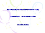 08-LECTURE 8 - Enhancing Decision Making