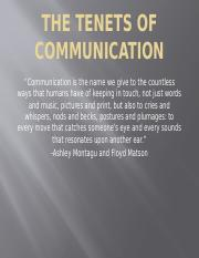 The Tenets of Communication.pptx