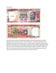 The Indian Rupee.docx