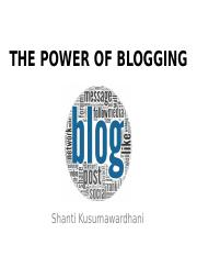 wk4 - The Power of Blogging.pptx