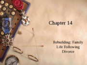 Chapter 14 Rebuilding Family Life Rev 09