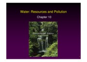 L23-25+Water resources and  pollution
