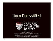 LinuxDemystified