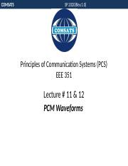 Lecture 11 & 12- PCM Waveforms.pptx