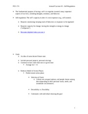 Intraself Lecture 3 - Self-Regulation Notes.doc