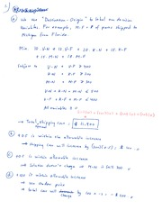 Midterm Review Problems Solution