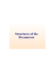 Decameron Structures