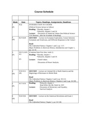 15A Assignments and Course Schedule -- Fall 2012