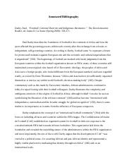 Annotated Bibliography- Paul Darby.docx