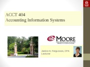 Documenting Accounting Systems (Part 2)