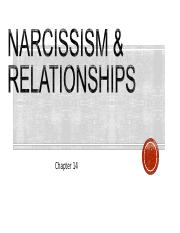 Ch 14_Narcissism_Relationships.ppt