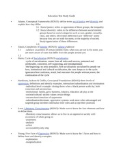 Education 210 Test Study Guide